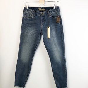 Kut Jeans Skinny Raw Hem Size 6